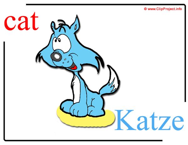 Musterbriefe In Englisch Free Download : Cat katze kater englisch deutsch bildwörterbuch für